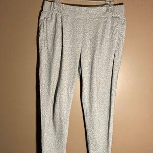 Eileen Fisher organic cotton grey pants